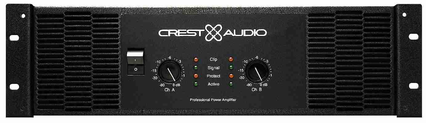 Mặt trước cứng cáp của main karaoke crest audio ca 26