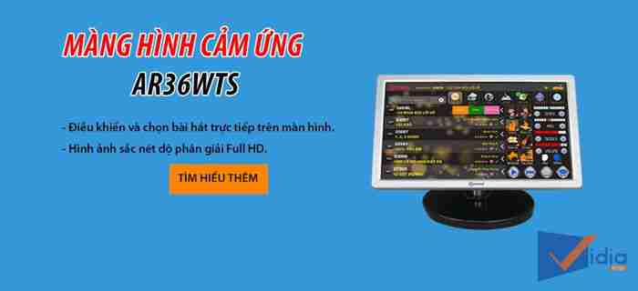 man hinh cam ung ariang AR-36WTK Plus