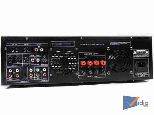 Mặt sau Amply Karaoke ProSing PS-1000