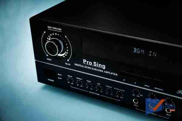 Góc chỉnh mic volume Amply Karaoke ProSing PS-1000