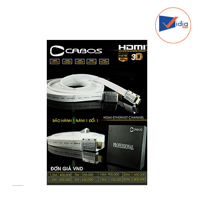 Cable Hdmi Cabos 1.4 2m