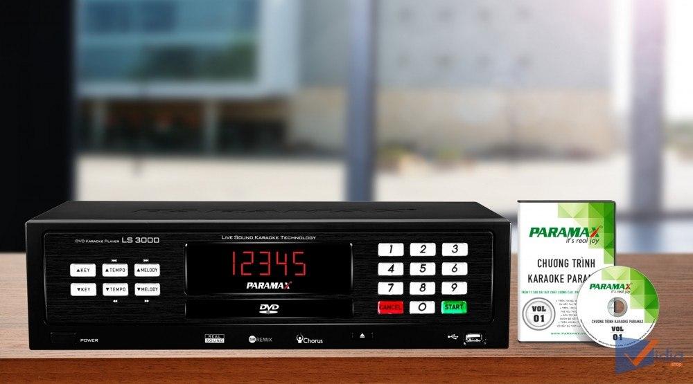 Đầu karaoke Paramax LS-3000 Không Đối Thủ Trong Cùng tầm giá