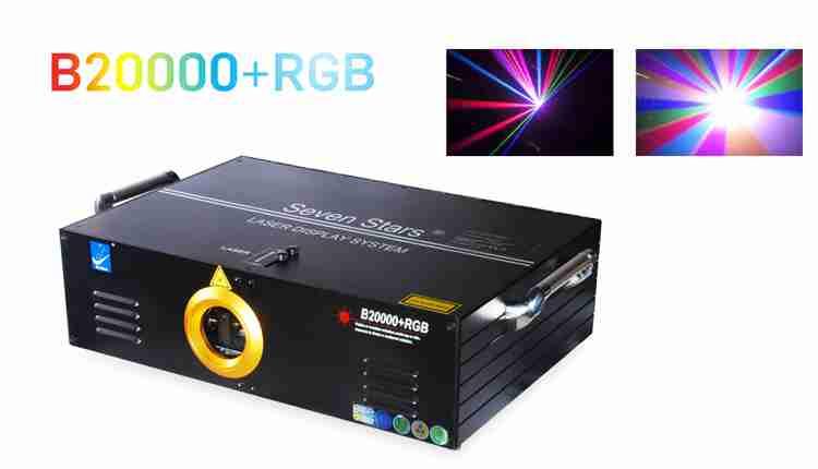 đèn laser cao cấp B20000 + RGB