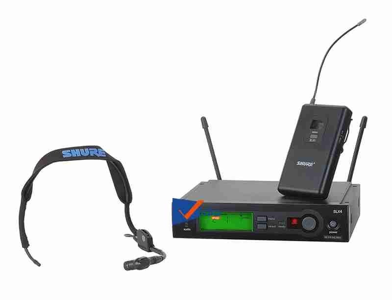 Micro không dây cài áoShure SLX1