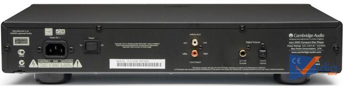 Đầu CD Cao Cấp Cambridge Audio 350C Chất Lượng Hoàn Hảo