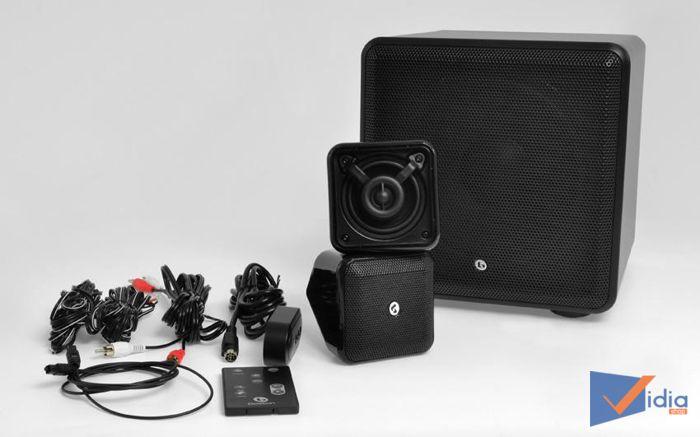 Dàn Loa Xem Phim Nghe Nhạc Boston SoundWare XS 2.1 Stereo Cho Phòng Nhỏ