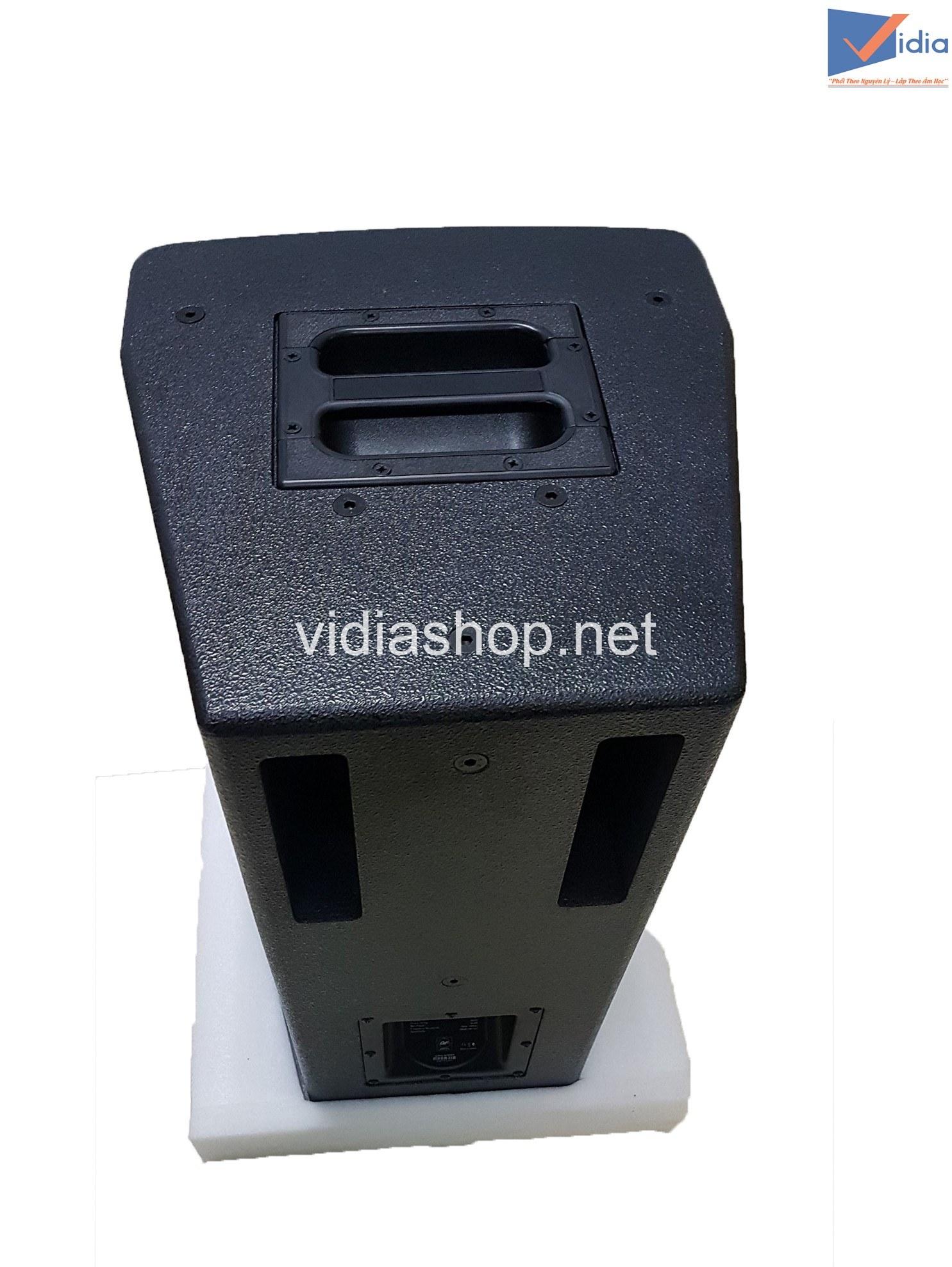 mặt sau loa karaoke BFaudio T10 Pro