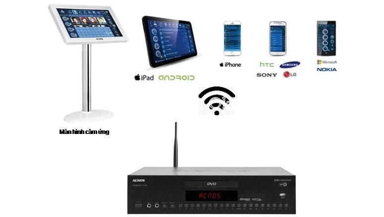 Đầu KTV Karaoke Wi-Fi SK8830KTV-W phù hợp với dàn karaoke gia đình triệu