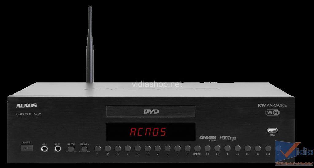 Đầu Acnos 8830 của dàn karaoke gia đình 10 triệu
