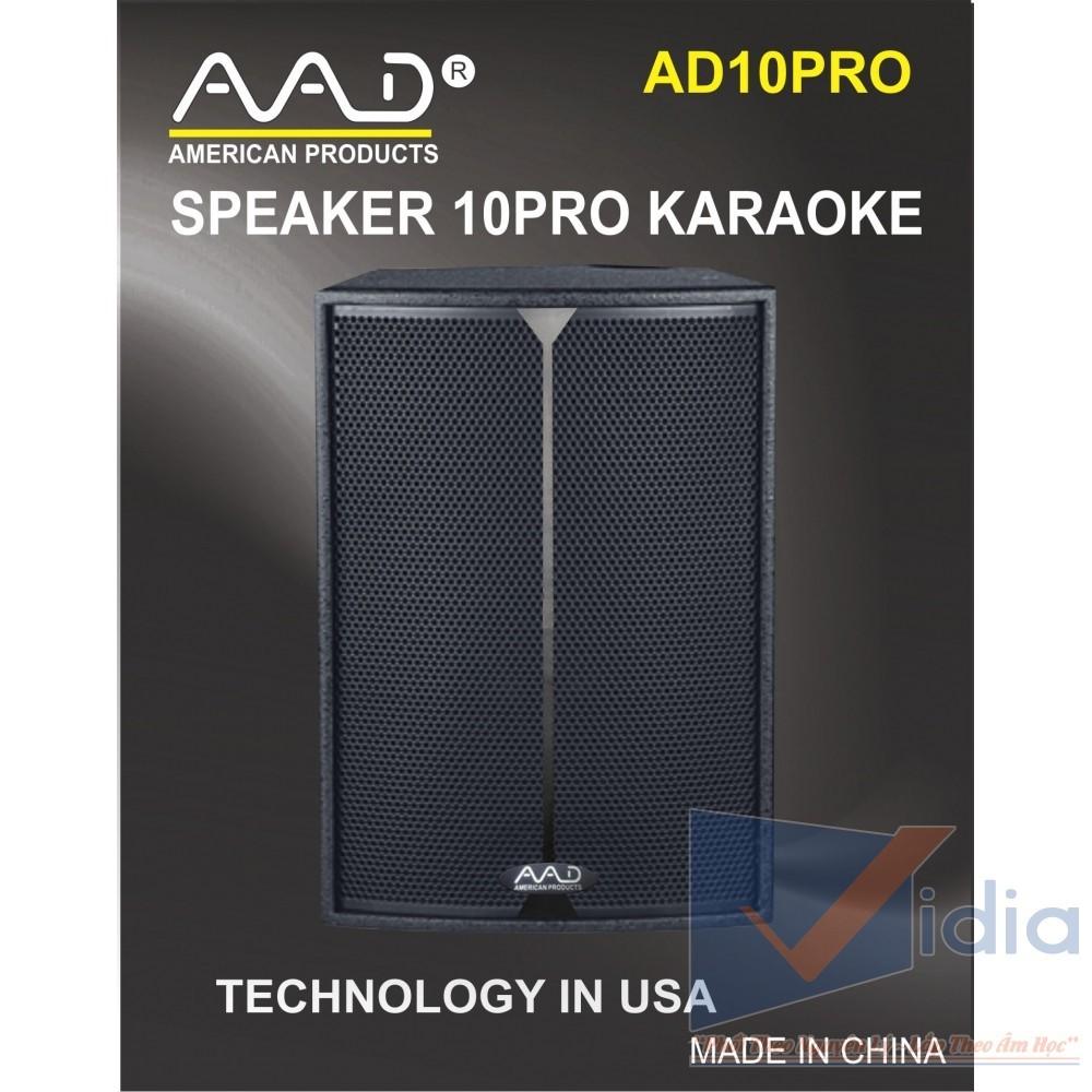 loa karaoke AD10PRO