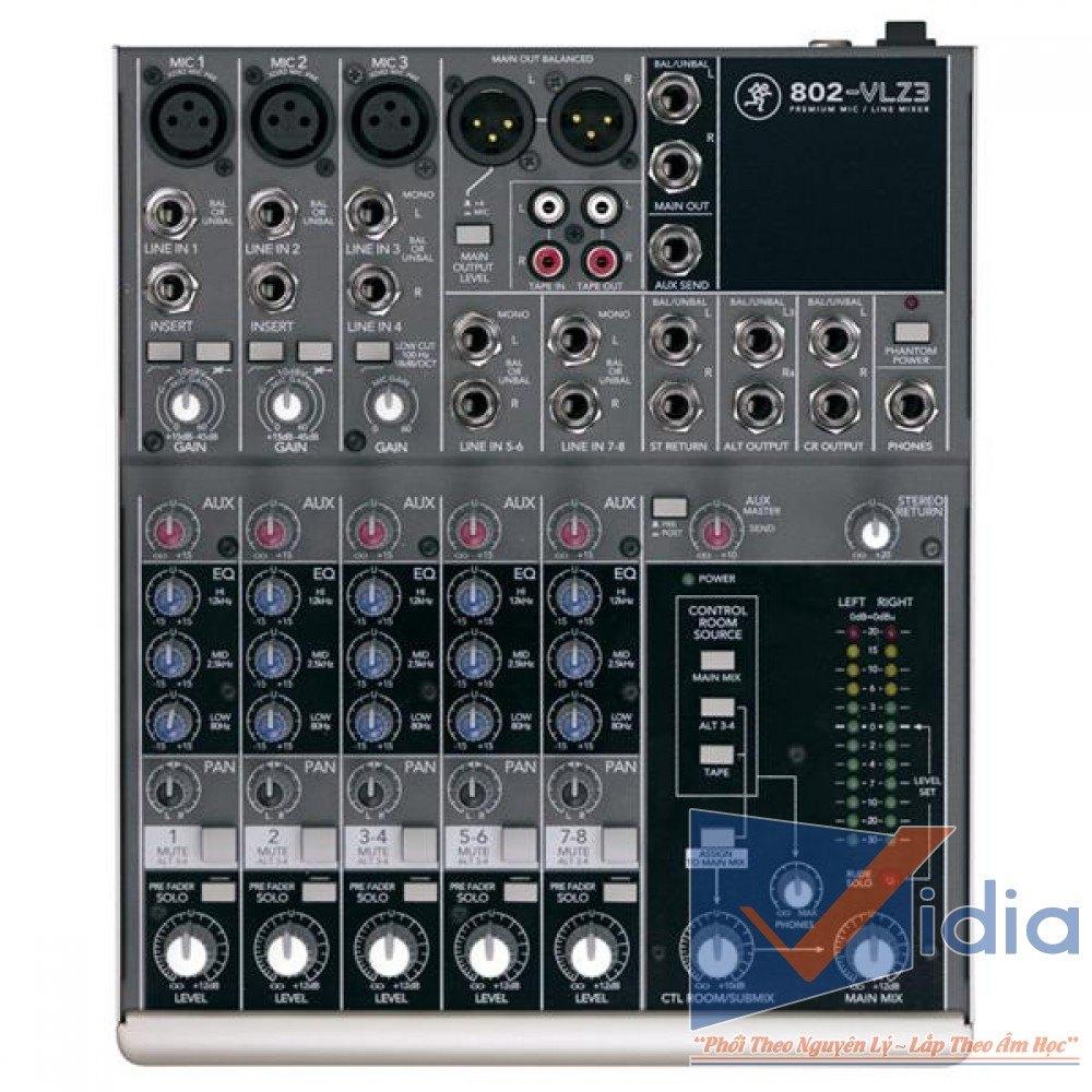 mixer karaoke 802-VLZ3
