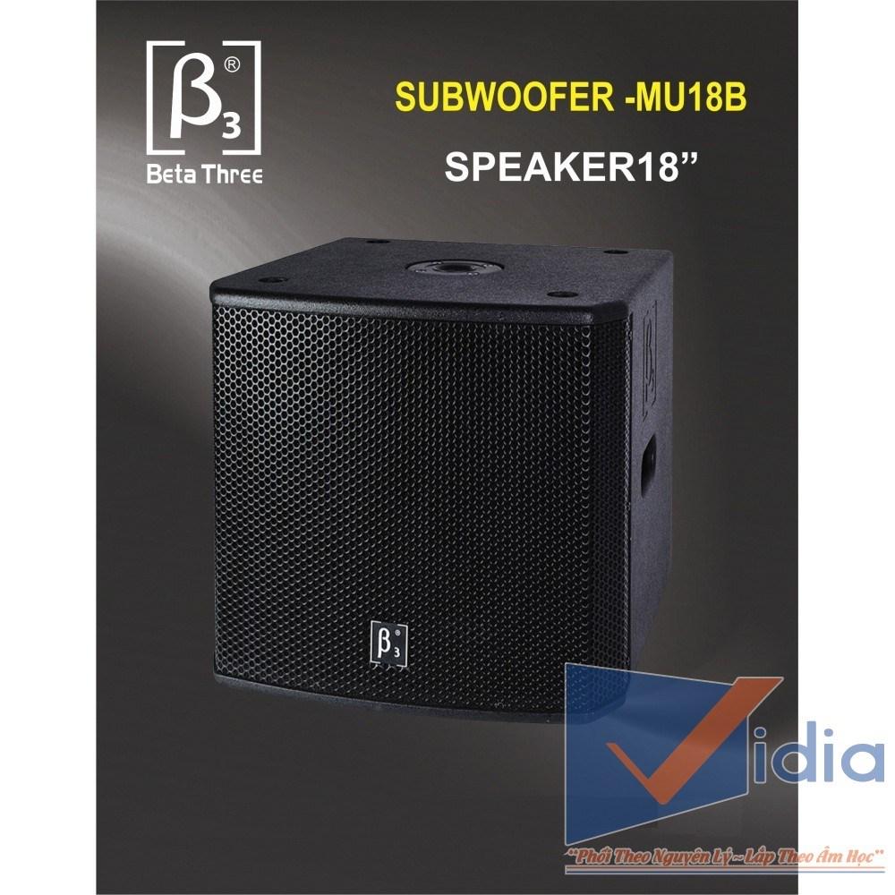 Loa Sub Karaoke B3-MU18B