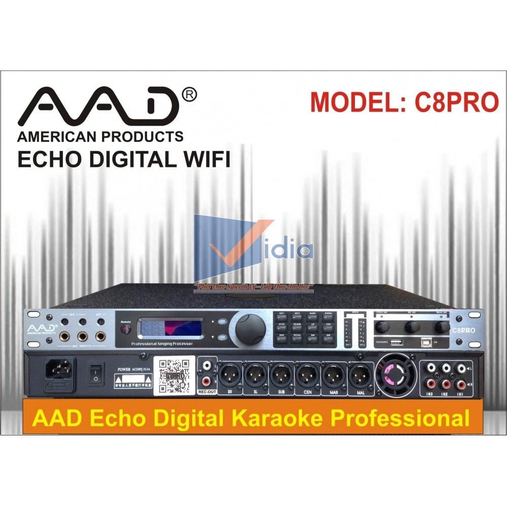 Mixer Karaoke AAD IPA-C8 Pro
