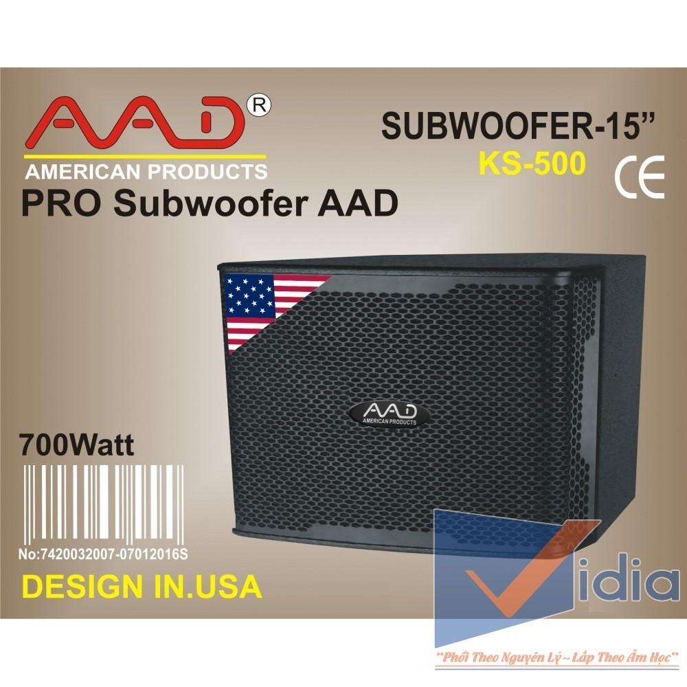 Loa Sub Karaoke SUBWOOFER AA-KS500