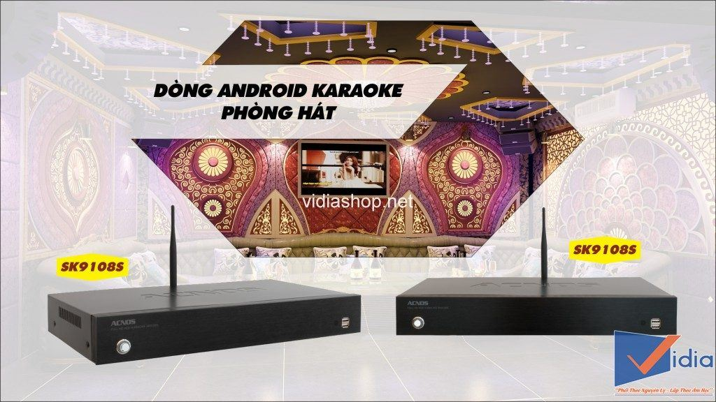 Đầu karaoke Acnos SK9108S