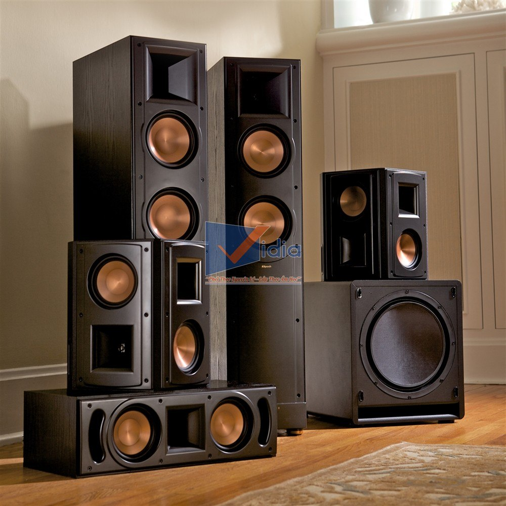 loa xem phim klipsch rf 62 ii home theater system. Black Bedroom Furniture Sets. Home Design Ideas