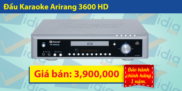 Đầu Karaoke Arirang AR-3600 HD