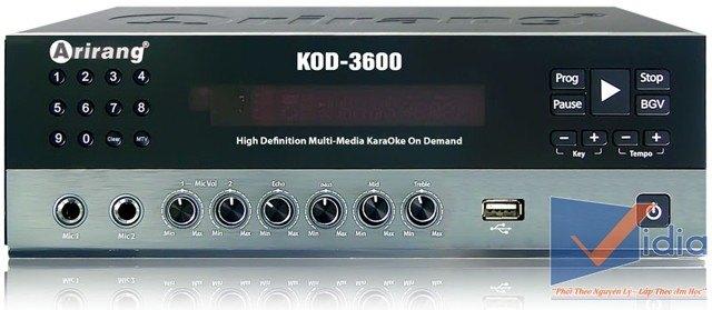 Đầu Karaoke Arirang AR-3600 KOD