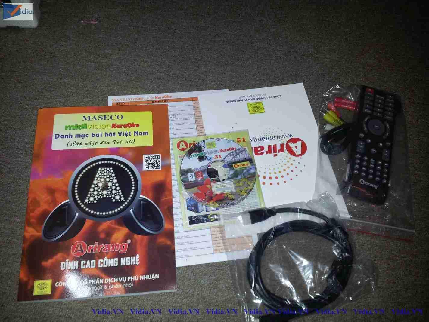 Đầu Karaoke Arirang AR-3600KTV