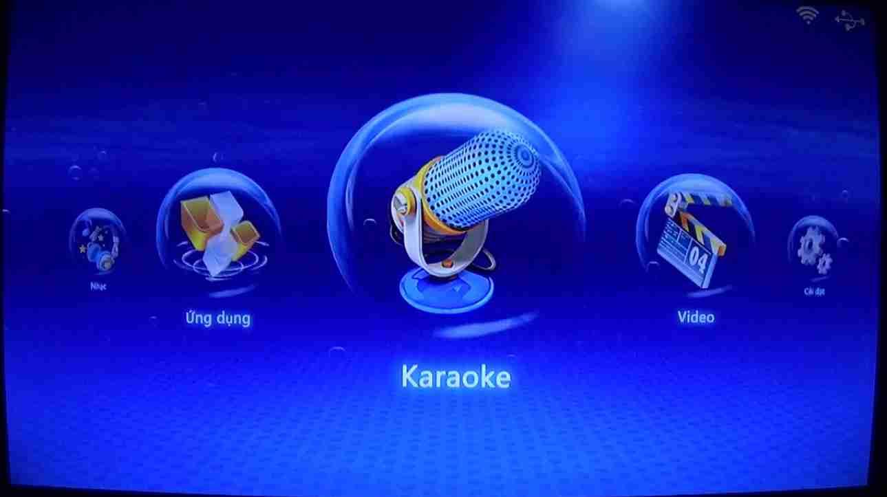 Điều khiển, bấm chọn bài hát qua smartphone.