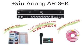 Nguyên bộ đầu karaoke arirang AR 36K