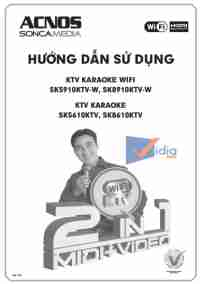 Hướng Dẫn Sử Dụng KTV Karaoke Wifi SK5910KTV-W, SK8910KTV-W Và SK5610KTV, SK8610KTV
