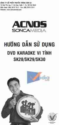 Hướng Dẫn Sử Dụng DVD Karaoke Vi Tính SK28/SK29/SK30