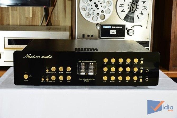 Ampli mixer No.200 Tube Karaoke3