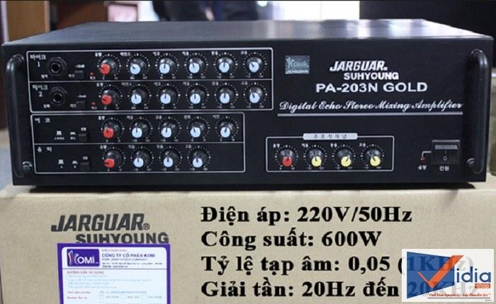 Amply Jarguar PA0203N Gold