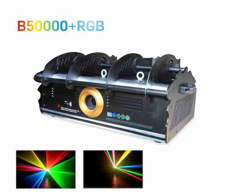 Đèn Laser B50000 + RGB