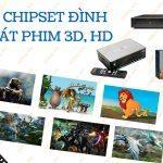 Tìm Hiểu Về 3 Dòng Chipset Đình Đám Và Một Số Đầu Phát Phim 3D HD