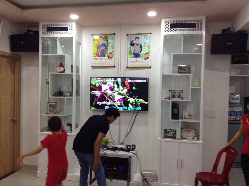 Dàn karaoke gia đình Anh Hùng - Gò Vấp