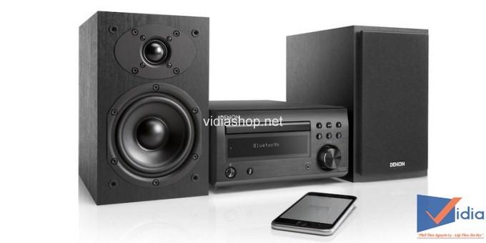 Hệ thống âm thanh stereo Denon D-M41 Mini tích hợp thêm bluetooth