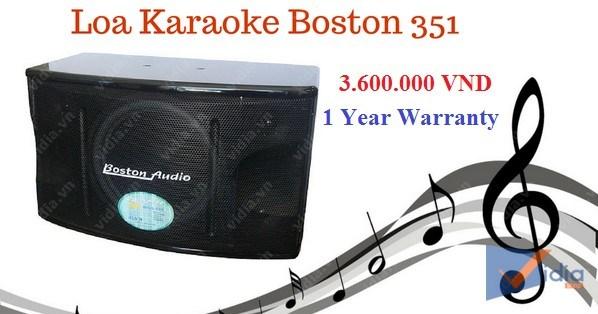 Giá Loa karaoke Boston 351