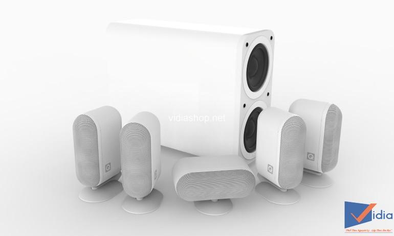 Q Acoustics Nâng Cấp Dòng Loa 5.1 7000i Plus, Subwoofer Tốt Hơn