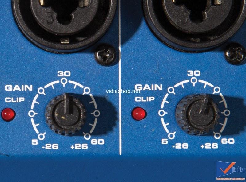 Tín hiệu trên Mixer và các bộ effect,EQ bị quá tải