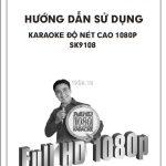 Hướng Dẫn Sử Dụng Đầu Karaoke Android Player SK9108