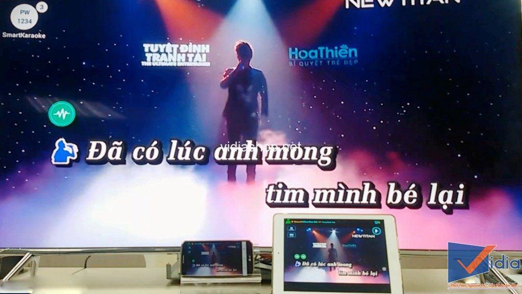 phát video karaoke ra thiết bị di động