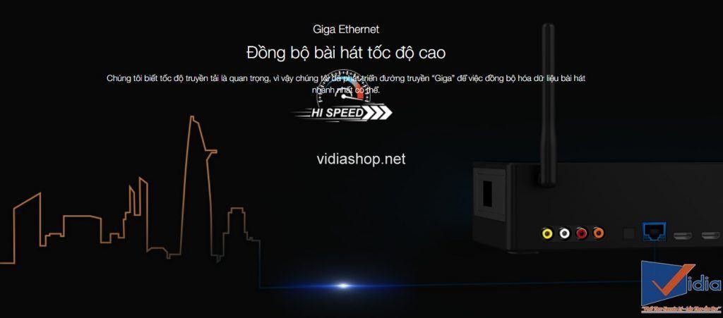 Giga Ethernet Đồng bộ bài hát tốc độ cao