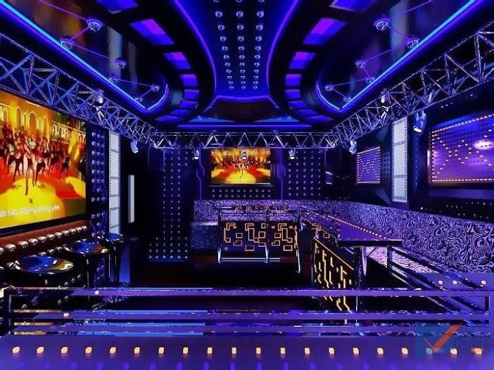Image result for thiết kế thi công công trình karaoke vidia shop