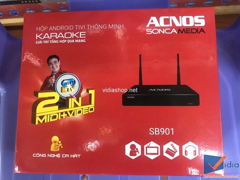 vỏ hộp karaoke full HD Acnos Sb901