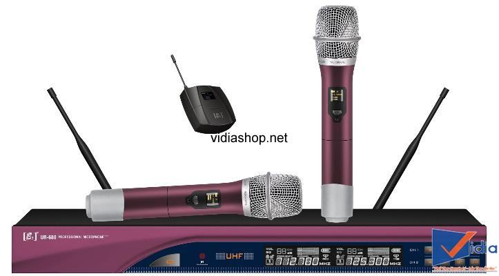 micro karaoke kh ng d y e3 ur 680 vidia shop. Black Bedroom Furniture Sets. Home Design Ideas