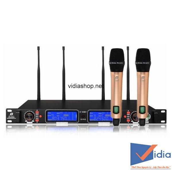 Micro karaoke không dây Bfaudio
