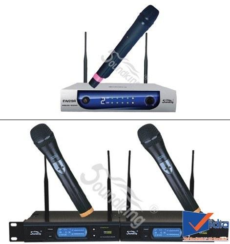 Một số thương hiệu micro karaoke không dây uy tín phổ biến trên thị trường