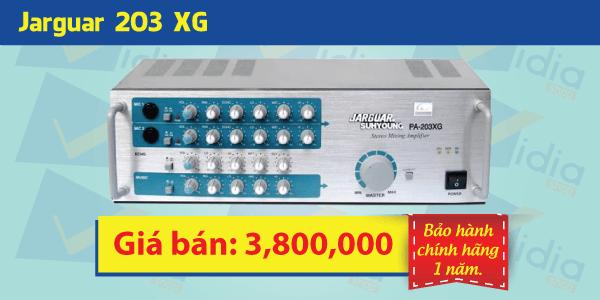 Amply karaoke giá rẻJarguar 203XG