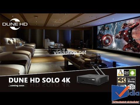 Đầu phát Dune HD Solo 4K