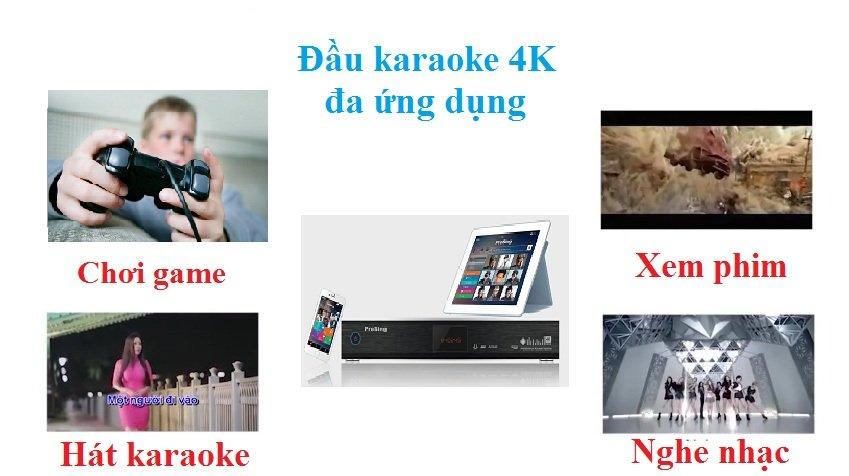 Sự khác biệt của đầu karaoke 4K thông minh