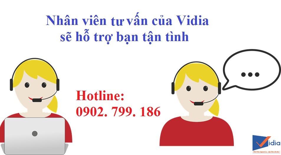 Liên hệ ngay với Vidia Shop để được tư vấn