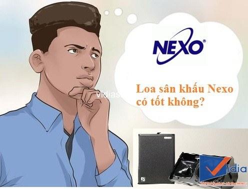 Loa sân khấu Nexo có tốt hay không?
