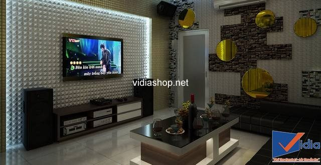 Sử dụng TV có kích thước phù hợp với diện tích phòng